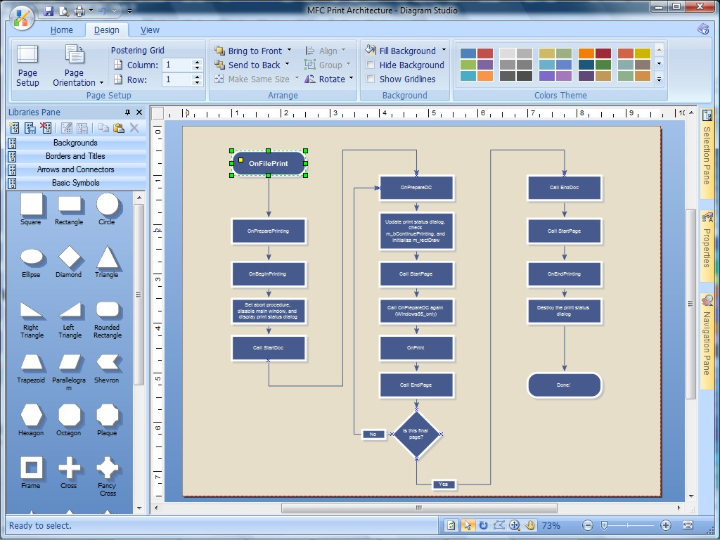برنامج Diagram Studio لعمل مخططات